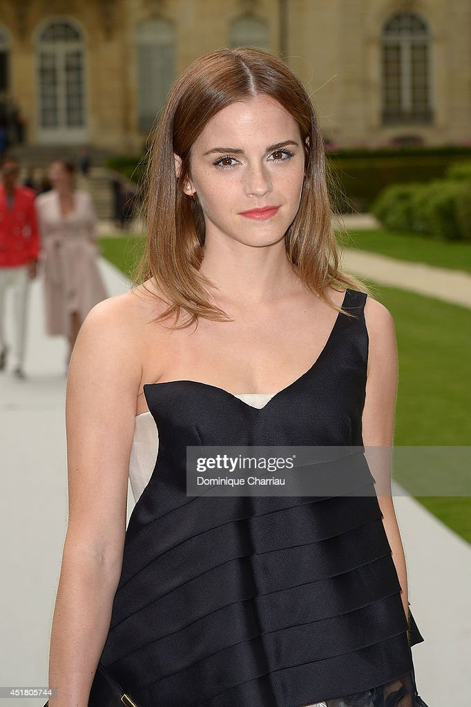<a gi-track='captionPersonalityLinkClicked' href=/galleries/search?phrase=Emma+Watson&family=editorial&specificpeople=171373 ng-click='$event.stopPropagation()'>Emma Watson</a> arrives at Christian Dior show as part of Paris Fashion Week - Haute Couture Fall/Winter 2014-2015 on July 7, 2014 in Paris, France.