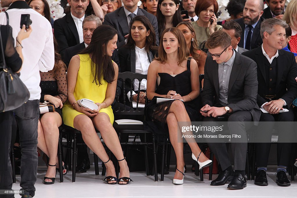 <a gi-track='captionPersonalityLinkClicked' href=/galleries/search?phrase=Emma+Watson&family=editorial&specificpeople=171373 ng-click='$event.stopPropagation()'>Emma Watson</a> attends Christian Dior show as part of Paris Fashion Week - Haute Couture Fall/Winter 2014-2015 at on July 7, 2014 in Paris, France.
