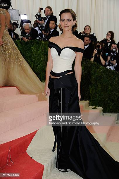 Emma Watson attends 'Manus x Machina Fashion In An Age Of Technology' Costume Institute Gala at