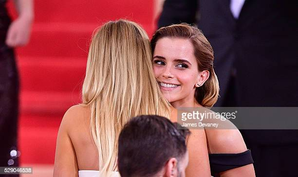 Emma Watson attends 'Manus x Machina Fashion in an Age of Technology' Costume Institute Gala at Metropolitan Museum of Art on May 2 2016 in New York...