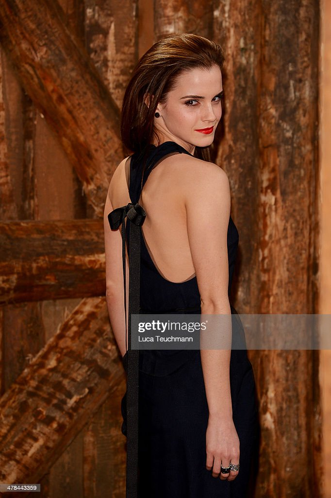 Emma Watson attends 'Noah' Germany Premiere at Zoo Palast on March 13, 2014 in Berlin, Germany.