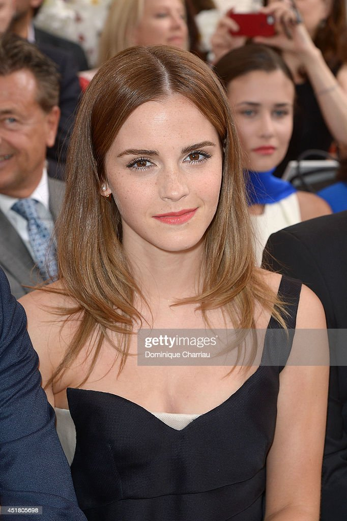 <a gi-track='captionPersonalityLinkClicked' href=/galleries/search?phrase=Emma+Watson&family=editorial&specificpeople=171373 ng-click='$event.stopPropagation()'>Emma Watson</a> attends the Christian Dior show as part of Paris Fashion Week - Haute Couture Fall/Winter 2014-2015 on July 7, 2014 in Paris, France.