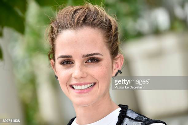 Emma Watson attends 'The Circle' Paris Photocall at Hotel Le Bristol on June 22 2017 in Paris France