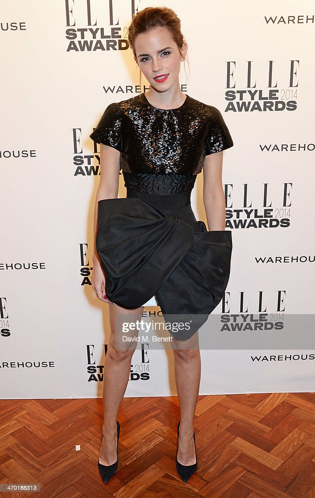 Emma Watson attends the Elle Style Awards 2014 at One Embankment on ...