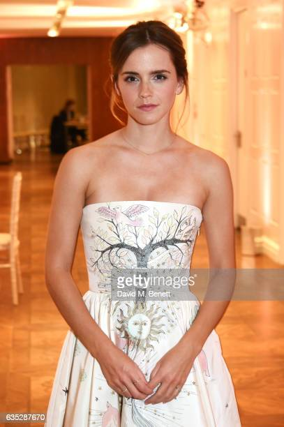Emma Watson attends the Elle Style Awards 2017 after party on February 13 2017 in London England