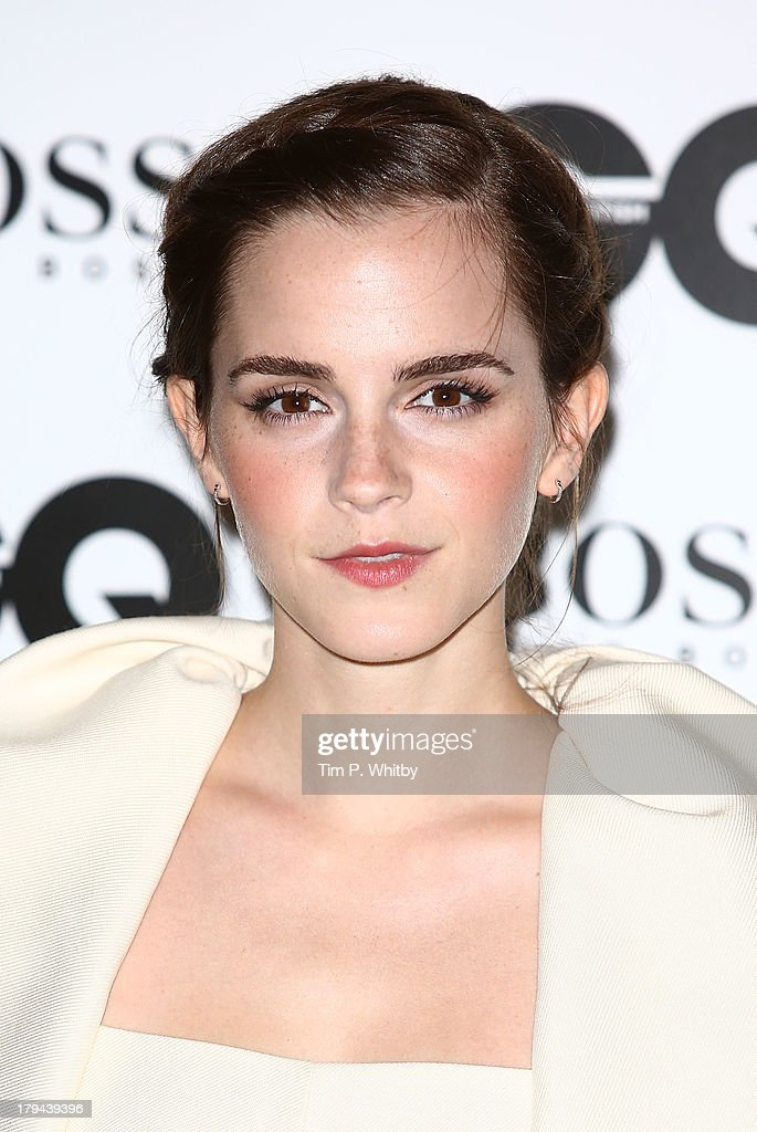Emma Watson attends the GQ Men of the Year awards at The Royal Opera House on September 3, 2013 in London, England.