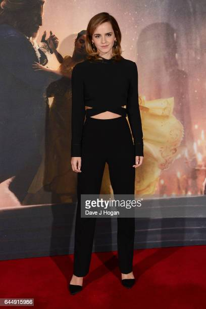 Emma Watson attends the photocall for 'Beauty And The Beast' at The Corinthia Hotel on February 24 2017 in London England
