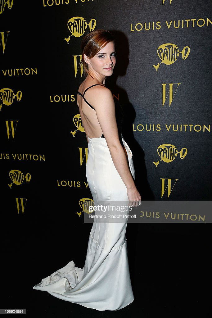 <a gi-track='captionPersonalityLinkClicked' href=/galleries/search?phrase=Emma+Watson&family=editorial&specificpeople=171373 ng-click='$event.stopPropagation()'>Emma Watson</a> attends the photocall of The Bling Ring Party Hosted By Louis Vuitton during the 66th Annual Cannes Film Festival at Club d'Albane/Marriott on May 16, 2013 in Cannes, France.