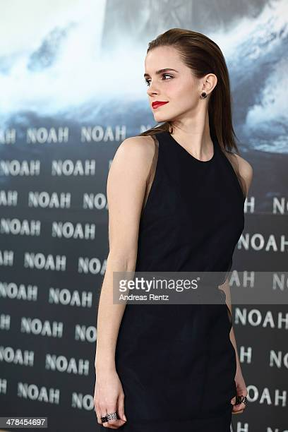 Emma Watson attends the premiere of Paramount Pictures' 'NOAH' at Zoo Palast on March 13 2014 in Berlin Germany