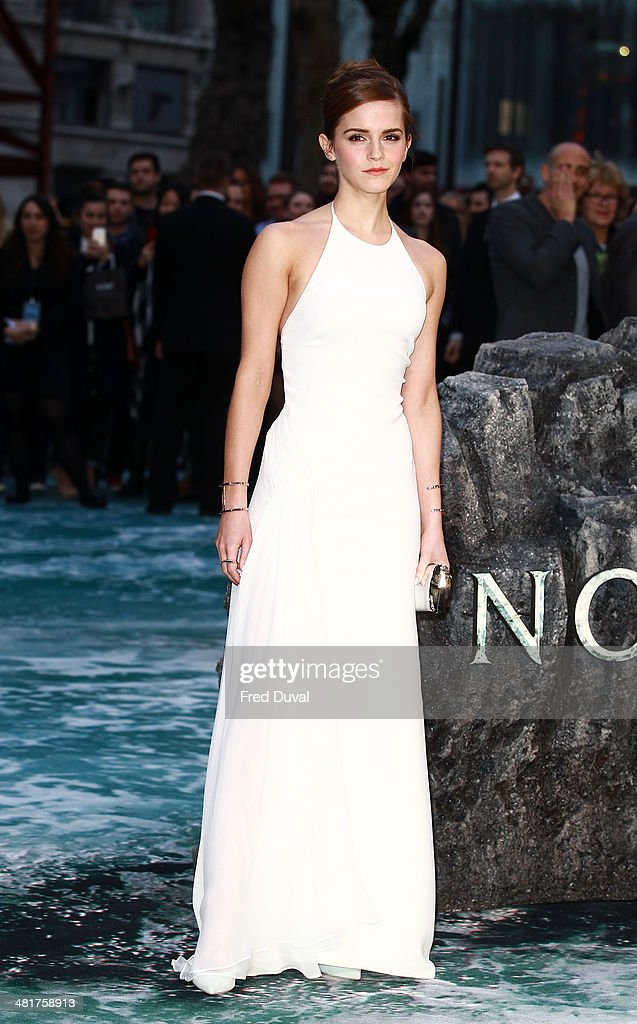 <a gi-track='captionPersonalityLinkClicked' href=/galleries/search?phrase=Emma+Watson&family=editorial&specificpeople=171373 ng-click='$event.stopPropagation()'>Emma Watson</a> attends the UK film premiere of 'Noah' at Odeon Leicester Square on March 31, 2014 in London, England.