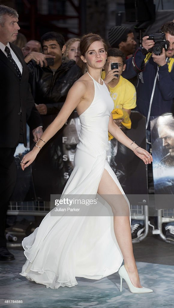 <a gi-track='captionPersonalityLinkClicked' href=/galleries/search?phrase=Emma+Watson&family=editorial&specificpeople=171373 ng-click='$event.stopPropagation()'>Emma Watson</a> attends the UK premiere of 'Noah' at Odeon Leicester Square on March 31, 2014 in London, England.