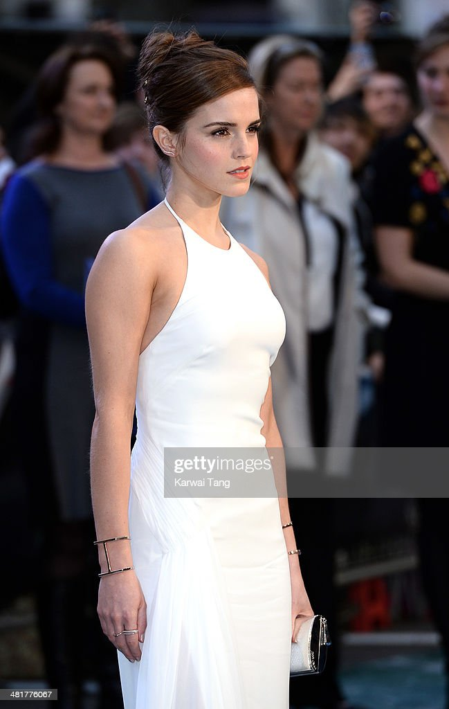 Emma Watson attends the UK premiere of 'Noah' held at the Odeon Leicester Square on March 31, 2014 in London, England.