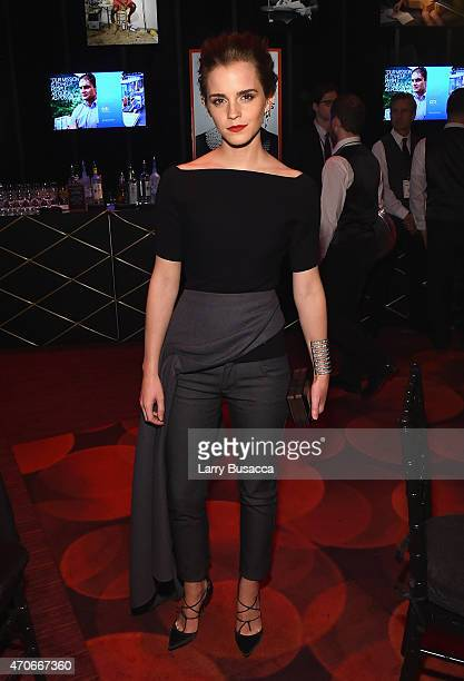 Emma Watson attends TIME 100 Gala TIME's 100 Most Influential People In The World on April 21 2015 in New York City