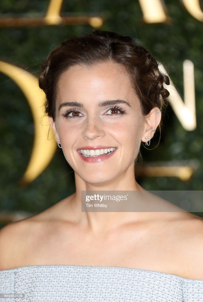 Emma Watson attends UK launch event for 'Beauty And The Beast' at Spencer House on February 23, 2017 in London, England.