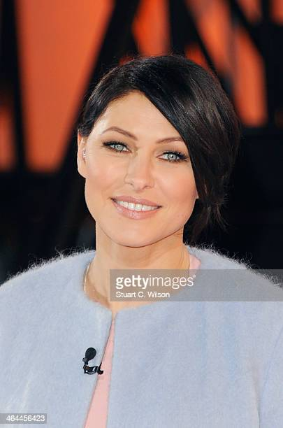 Emma Willis announces who is evicted from the Celebrity Big Brother house at Elstree Studios on January 22 2014 in Borehamwood England