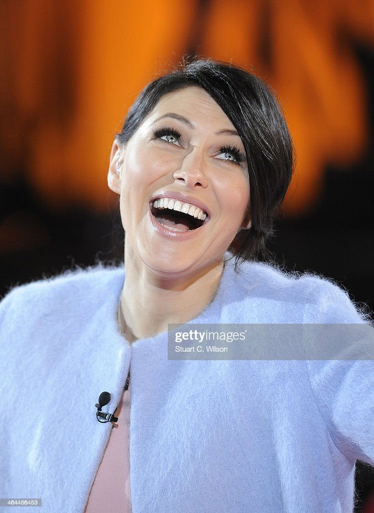 <a gi-track='captionPersonalityLinkClicked' href=/galleries/search?phrase=Emma+Willis&family=editorial&specificpeople=692294 ng-click='$event.stopPropagation()'>Emma Willis</a> announces who is evicted from the Celebrity Big Brother house at Elstree Studios on January 22, 2014 in Borehamwood, England.