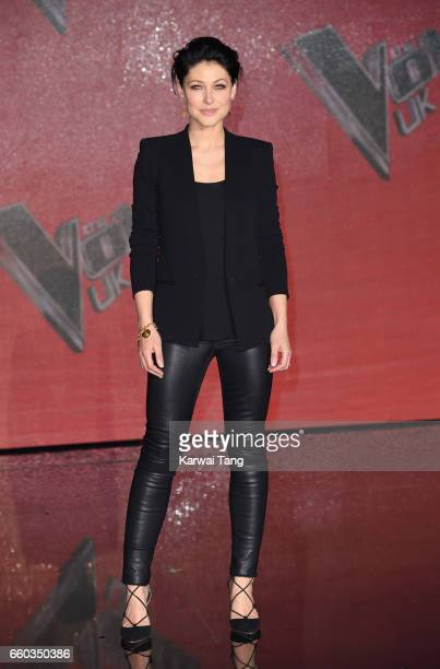 Emma Willis attends a photocall for the final of The Voice UK at LH2 on March 29 2017 in London United Kingdom
