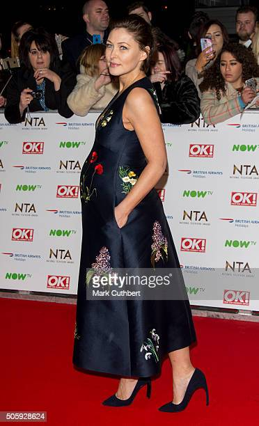 Emma Willis attends the 21st National Television Awards at The O2 Arena on January 20 2016 in London England