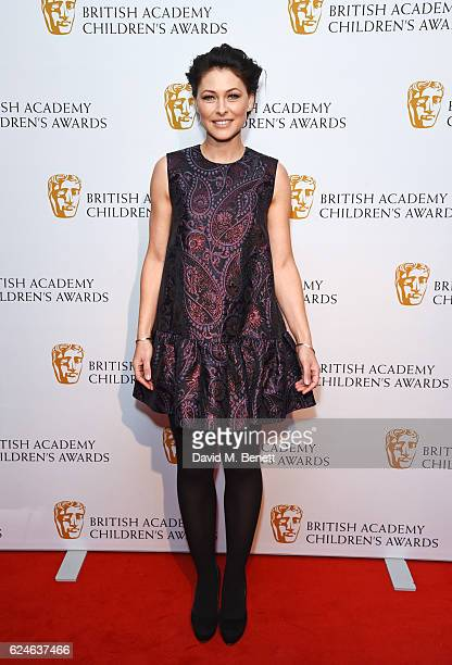 Emma Willis attends the BAFTA Children's Awards at The Roundhouse on November 20 2016 in London England
