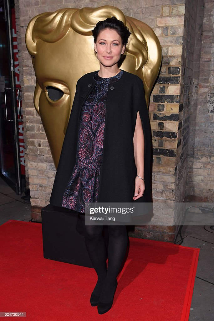 Emma Willis attends the BAFTA Children's Awards at The Roundhouse on November 20, 2016 in London, England.