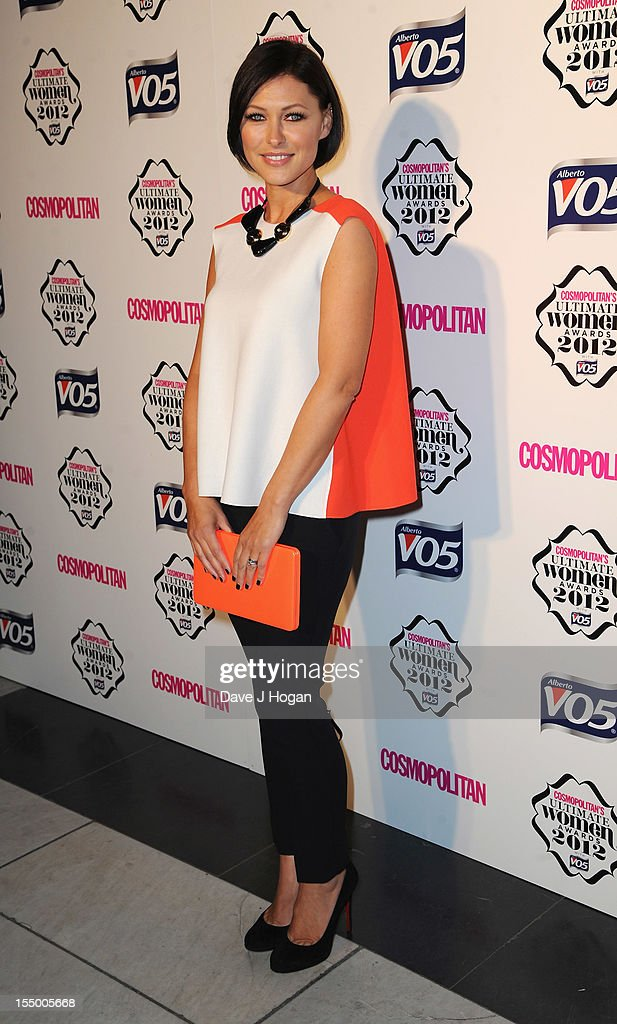 Emma Willis attends the Cosmopolitan Ultimate Woman of the Year awards at Victoria & Albert Museum on October 30, 2012 in London, England.