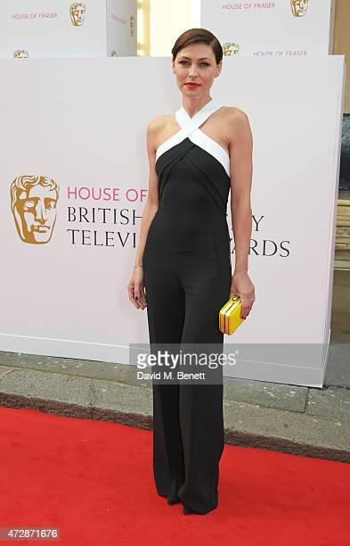 Emma Willis attends the House of Fraser British Academy Television Awards at Theatre Royal Drury Lane on May 10 2015 in London England