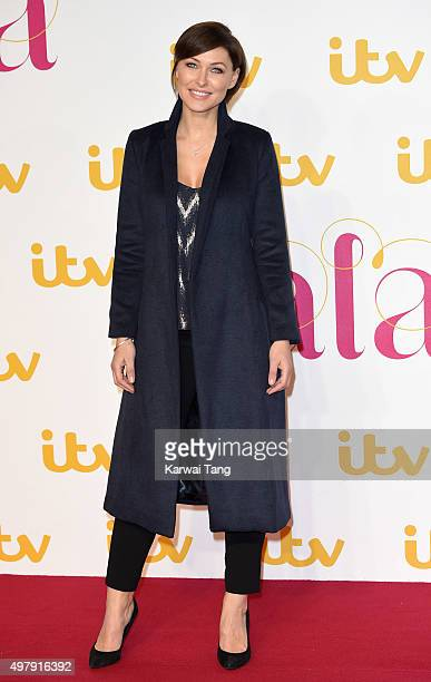 Emma Willis attends the ITV Gala at London Palladium on November 19 2015 in London England