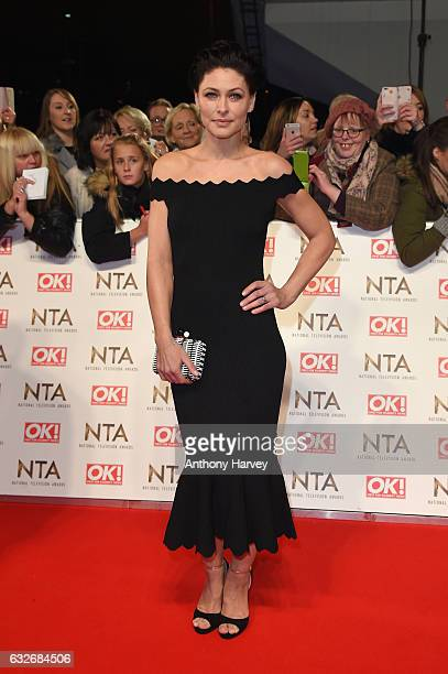 Emma Willis attends the National Television Awards on January 25 2017 in London United Kingdom