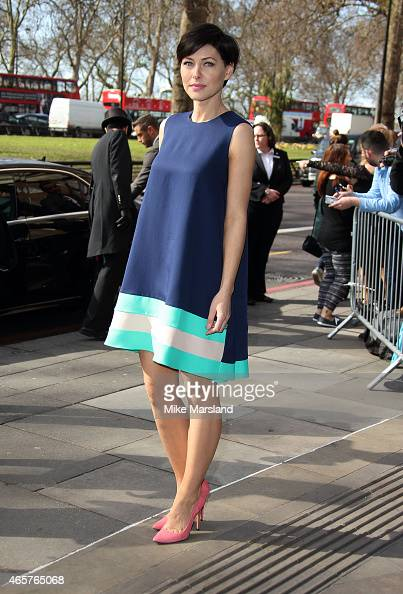 Emma Willis attends the TRIC Awards on March 10 2015 in London England