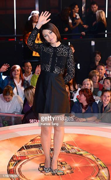 Emma Willis hosts from the Celebrity Big Brother house at Elstree Studios on September 6 2013 in Borehamwood England