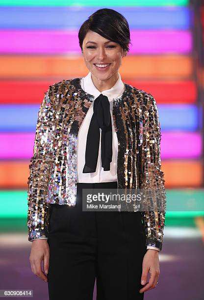 Emma Willis hosts the Celebrity Big Brother at Elstree Studios on January 3 2017 in Borehamwood England