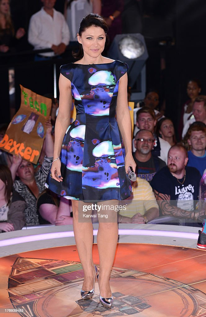 Emma Willis hosts the final of Big Brother at Elstree Studios on August 19, 2013 in Borehamwood, England.