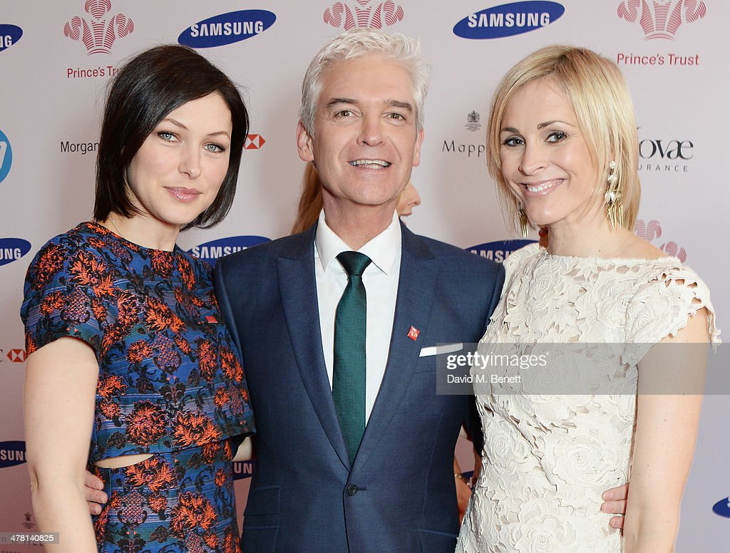 Emma Willis, Phillip Schofield and Jenni Falconer attend The Prince's Trust & Samsung Celebrate Success Awards at Odeon Leicester Square on March 12, 2014 in London, England.