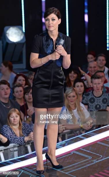 Emma Willis presents at the Big Brother house during the Live Launch Night 2 at Elstree Studios on June 6 2014 in Borehamwood England