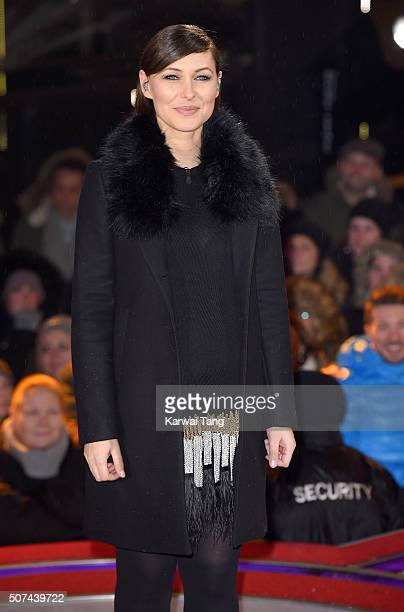 Emma Willis presents from the Big Brother House at Elstree Studios on January 29 2016 in Borehamwood England