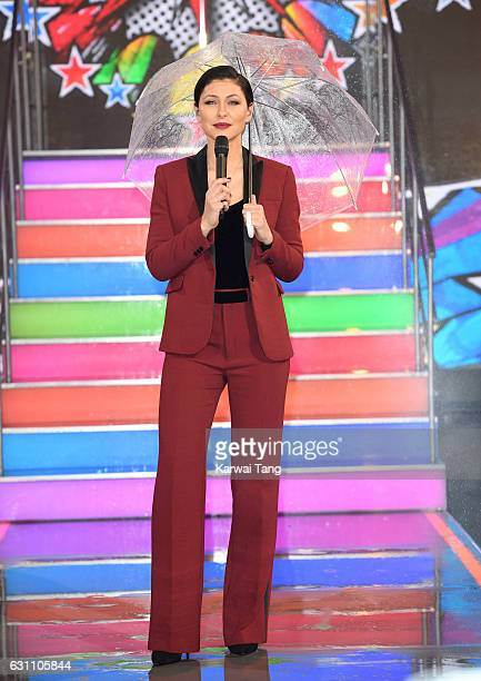 Emma Willis presents from the Celebrity Big Brother house on January 6 2017 in Borehamwood United Kingdom