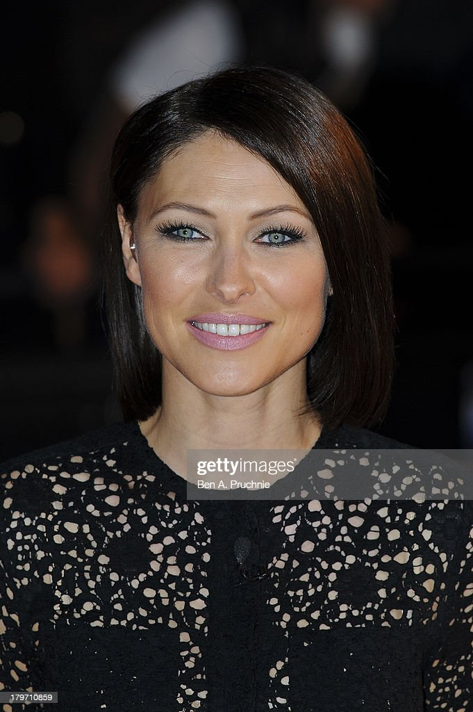 <a gi-track='captionPersonalityLinkClicked' href=/galleries/search?phrase=Emma+Willis&family=editorial&specificpeople=692294 ng-click='$event.stopPropagation()'>Emma Willis</a> presents the Celebrity Big Brother eviction show at Elstree Studios on September 6, 2013 in Borehamwood, England.
