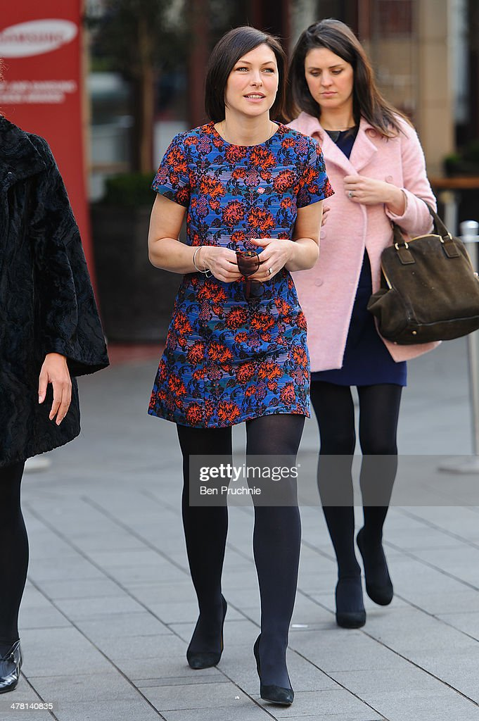Emma Willis sighted in Leicester Square on March 12, 2014 in London, England.