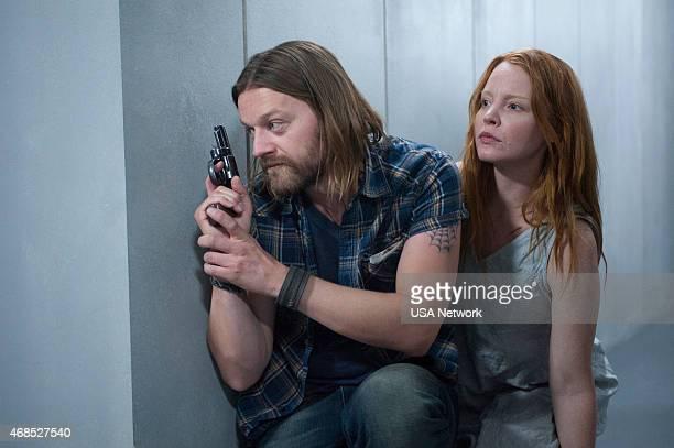 DIG 'Emma Wilson's Father' Episode 105 Pictured Dean Chekvala as Charlie Lauren Ambrose as Debbie