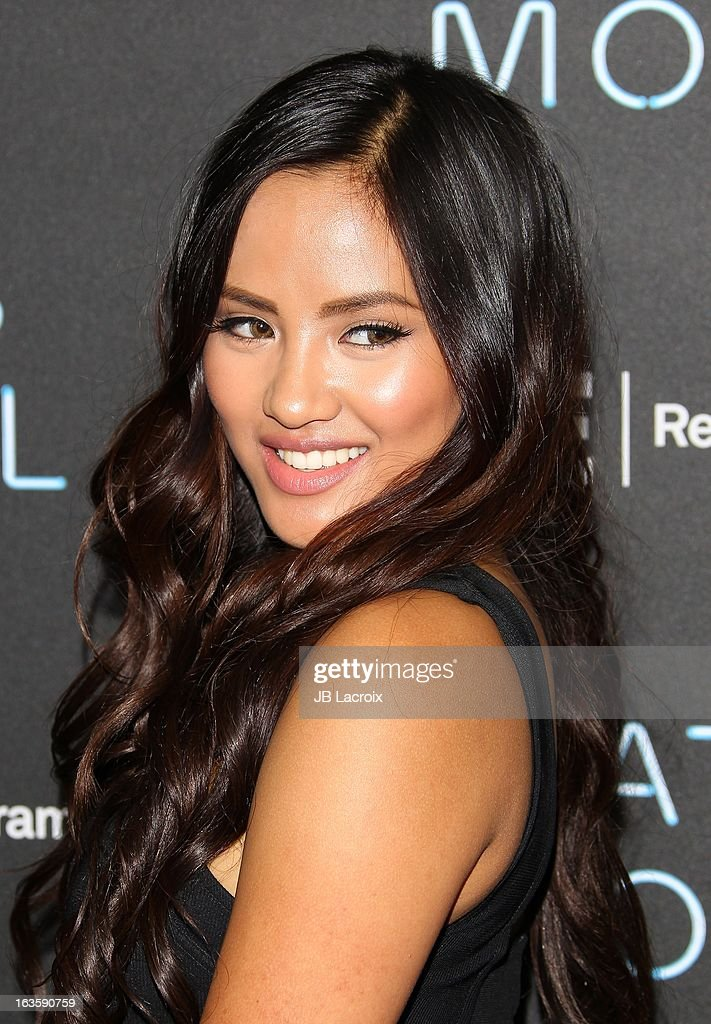 Emmalyn Estrada attends the A&E new series premiere of 'Bates Motel' at Soho House on March 12, 2013 in West Hollywood, California.