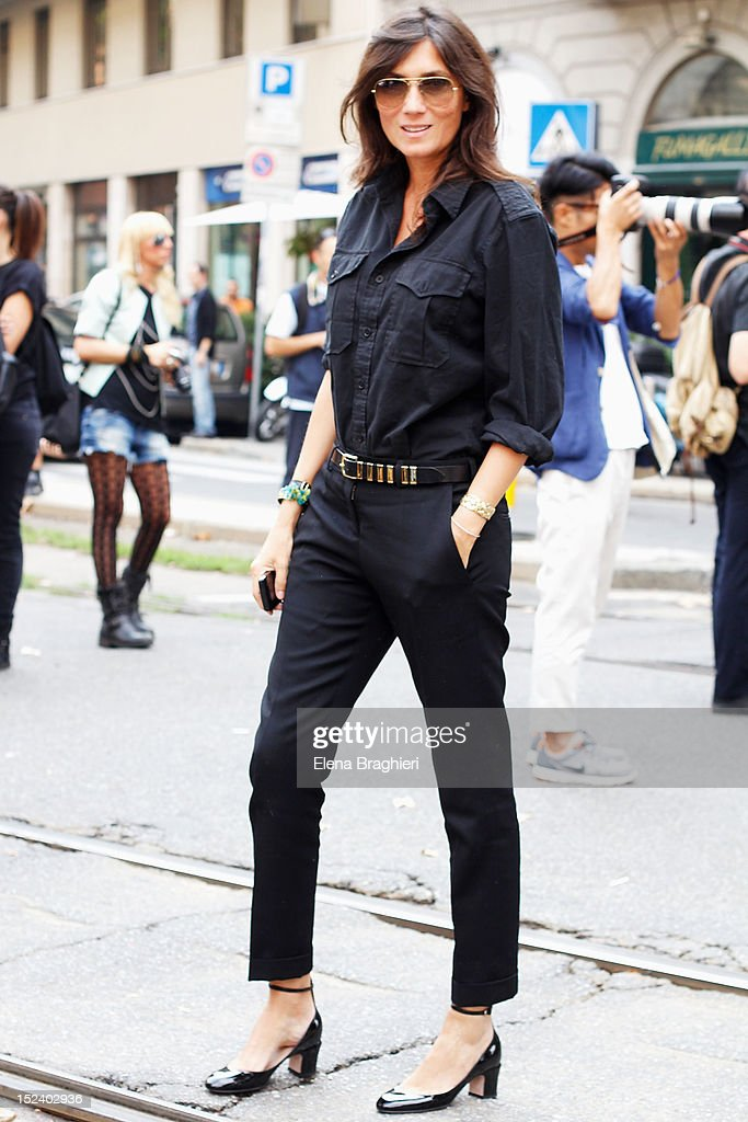 Street Style Day 1 Milan Fashion Week Womenswear Spring Summer 2013 Getty Images