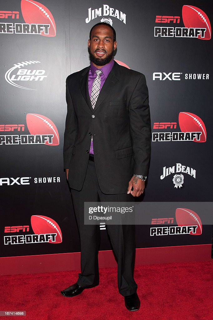 Emmanuel Arceneaux attends the ESPN The Magazine 10th annual Pre-Draft Party at The IAC Building on April 24, 2013 in New York City.