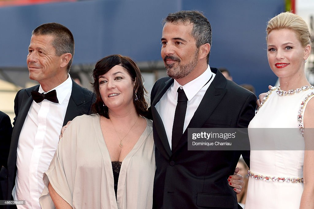 Emmanuel Carrere Lynne Ramsay Francesco Munzi and Elizabeth Banks attend the opening ceremony and premiere of 'Everest' during the 72nd Venice Film...