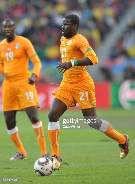 Emmanuel EBOUE Cote d'Ivoire / Portugal Coupe du Monde 2010 Match 13 Groupe G Nelson Mandela Bay Stadium Port Elizabeth Afrique du Sud Photo Dave...