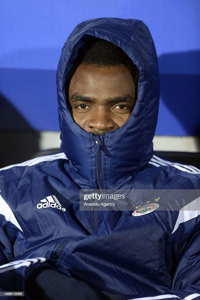 <a gi-track='captionPersonalityLinkClicked' href=/galleries/search?phrase=Emmanuel+Emenike&family=editorial&specificpeople=7487637 ng-click='$event.stopPropagation()'>Emmanuel Emenike</a> of Fenerbahce is seen during the Turkish Spor Toto Super League match between Caykur Rizespor and Fenerbahce at Yenisehir Stadium in Rize, Turkey on April 04, 2015.