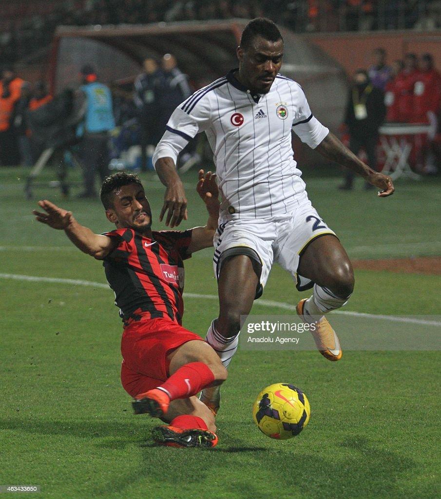 Gaziantepspor v Fenerbahce Turkish Spor Toto Super League s