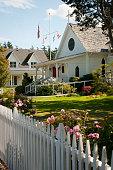 Emmanuel Episcopal Church in Eastsound Village on Orcas Island Washington State, USA