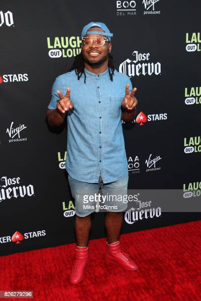 Emmanuel Hudson attends Launch Of Laugh Out Loud hosted by Kevin Hart And Jon Feltheimer on August 03 2017 in Los Angeles California