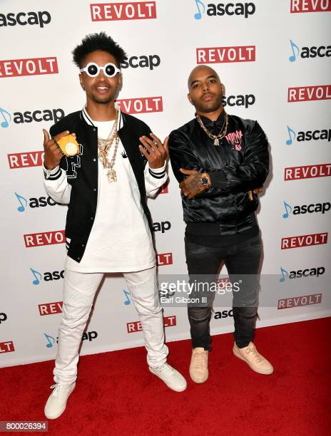Emmanuel Mano Nickerson and HXLT at the ASCAP 2017 Rhythm Soul Music Awards at the Beverly Wilshire Four Seasons Hotel on June 22 2017 in Beverly...