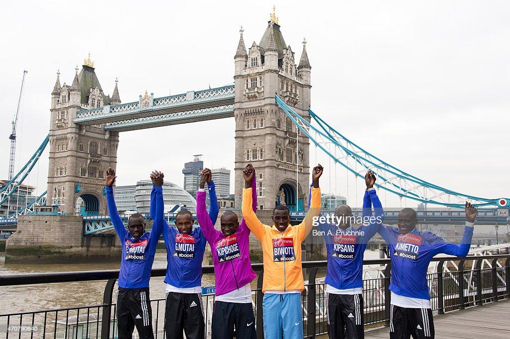 London Marathon Photocalls